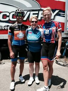 Pro Cyclist Kirk Bausch and his wife U.S. Olympic  Cycling Team Silver Medalist Dotsie Bausch spent the week with us riding and coaching. They are awesome!!